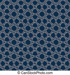 Silver moroccan mosaic - Blue and silver mosaic moroccan...