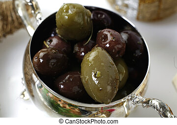olives - food aranged for party