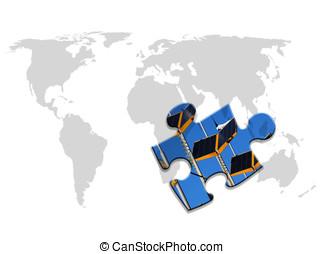 World energy puzzle