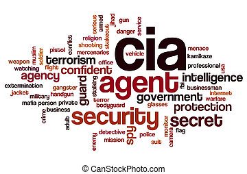 CIA word cloud
