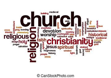 Church word cloud