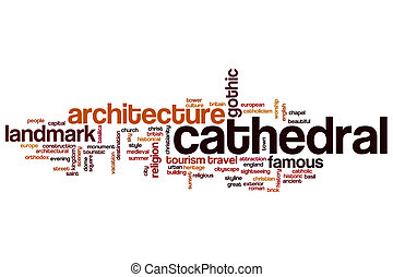 Cathedral word cloud
