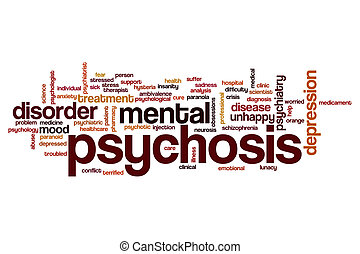 Name word cloud - Psychosis word cloud concept