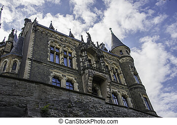 castle of wernigerode in germany - the castle of wernigerode...