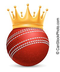 Cricket Ball in Crown