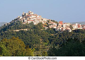 Casoli in Abruzzo, small village in the country