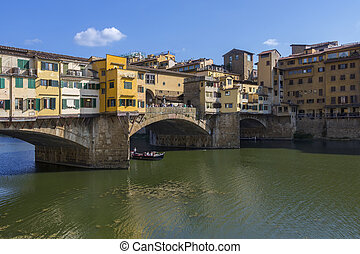 Ponte Vecchio - Florence - Italy - Florence, Italy - The...