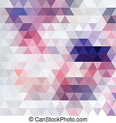 patrón, brillante, Extracto, polígonos