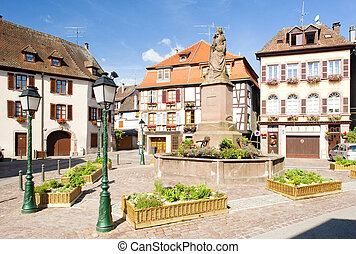Ribeauville, Alsace, France
