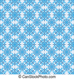 seamless background snowflakes - vector illustration...