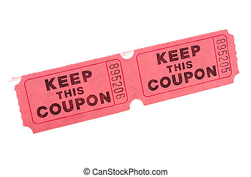 Keep this Coupon - Having kept this coupon its owner can...