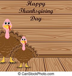 Holiday turkey on Thanksgiving Day