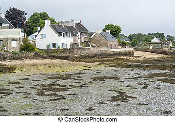 Larmor-Baden in Brittany - Scenery around Larmor-Baden, a...