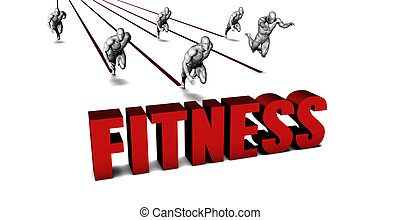 Better Fitness with a Business Team Racing Concept