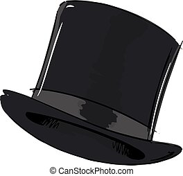 Top Hat Fashion Style Illustration
