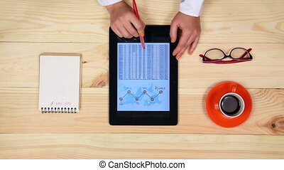 Woman Analyzing Start Up Report - Businesswoman Analyzing...