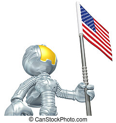 Mini Astronaut - 3D Cartoon Astronaut Concept And...