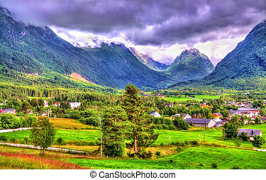 Landscapes of Norway in Sogn og Fjordane county - Landscapes...