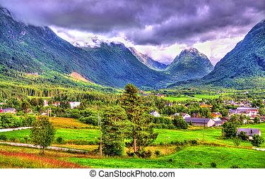 Landscapes of Norway in Sogn og Fjordane county - Landscapes...