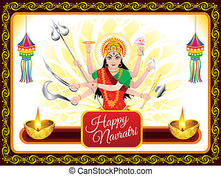 abstract navratri background - abstract artistic navratri...