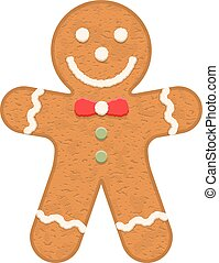 Gingerbread Man - Gingerbread man, traditional Christmas...