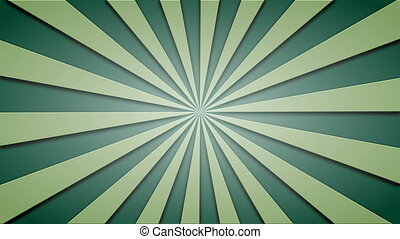 Footage animated background of green beams. loopable 4k...