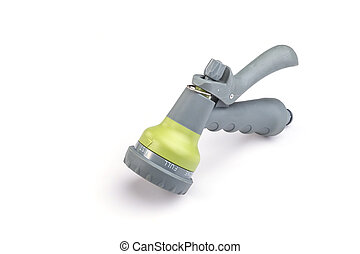 Spray gun isolated on white background - Close up spray gun...