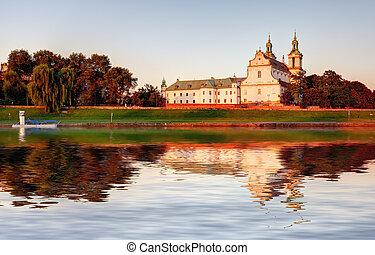 Cathedral Na Skalce in Krakow