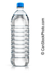 Plastic drink water bottle - Plastic bottle with clear...