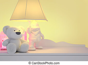 Children's fairy tale for the night. - Children's toys, the...
