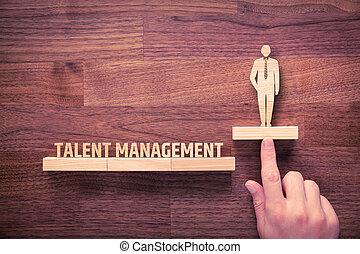 gerência, Talento