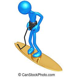 Surfing Tether