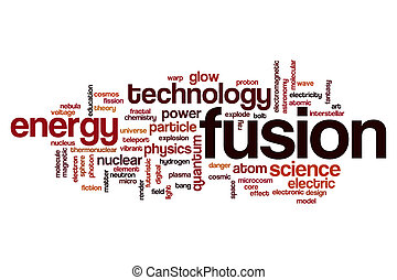 Fusion word cloud concept