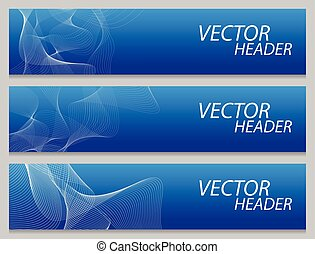 banner template, horizontal advertising banner layout...