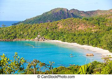 Anse Lazio beach in Seychelles - Famous Anse Lazio beach in...