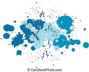 Blue blobs