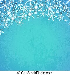 Abstract winter background. Vector illustration.