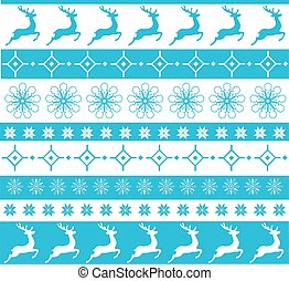 christmas ornament - vector Christmas background