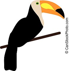 Toucan Bird - vector toucan bird