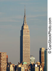 Empire State building, New York City - Empire State Building...