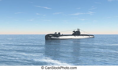 submarine - Image of a submarine.