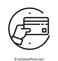 bank card payment vector illustration design