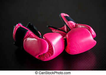 boxing gloves - pink boxing gloves