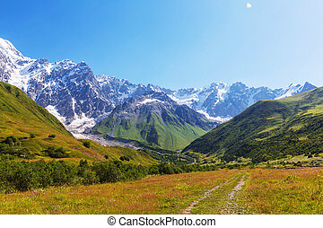 Caucasus mountains - High Caucasus mountains....