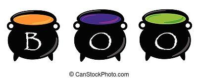 Boo Cauldrons