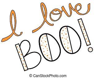 I Love Boo!