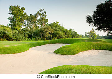Golf course - A golf course in Asia