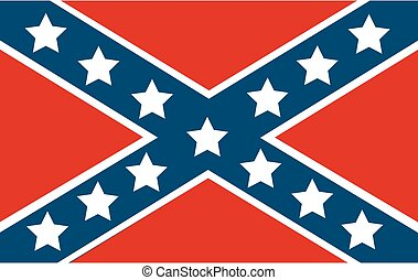 National flag of the Confederate