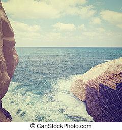 Rosh Hanikra Cliff near Israeli- Lebanese Border, Instagram...