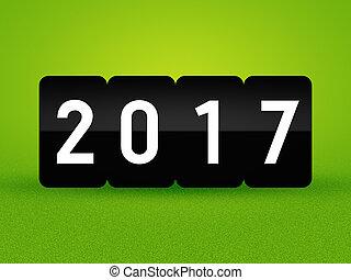 2017 New Year Green Card